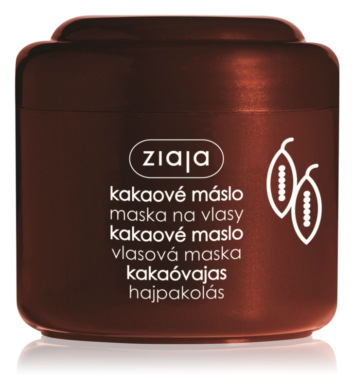 ziaja cocoa butter masque cheveux au beurre de cacao. Black Bedroom Furniture Sets. Home Design Ideas
