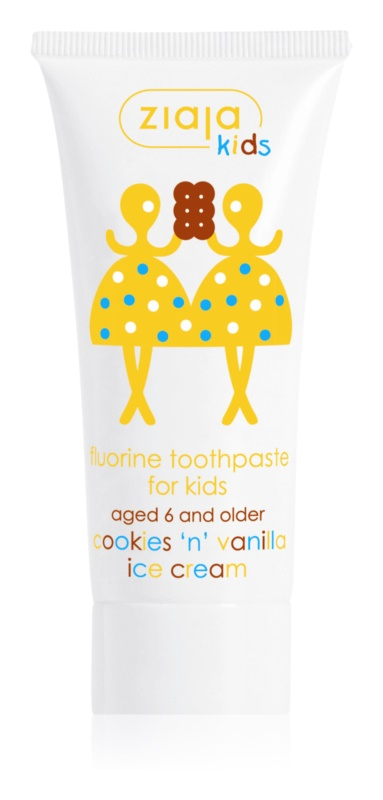 Ziaja Kids Cookies 'n' Vanilla Ice Cream zubní pasta pro děti