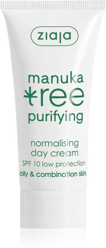 Ziaja Manuka Tree Purifying creme de dia para pele oleosa e mista