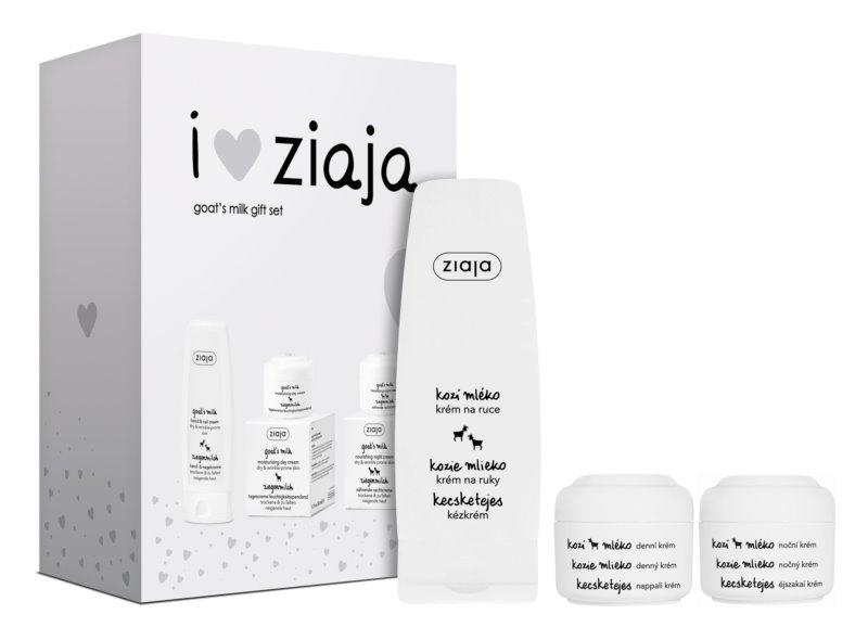 Ziaja Goat's Milk zestaw kosmetyków I. (do skóry suchej)