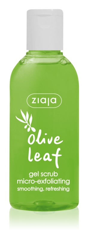 Ziaja Olive Leaf gel exfoliant