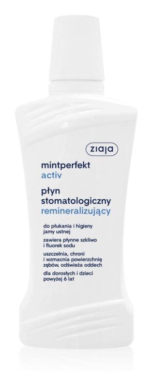 Ziaja Mintperfekt Activ реминализираща вода за уста