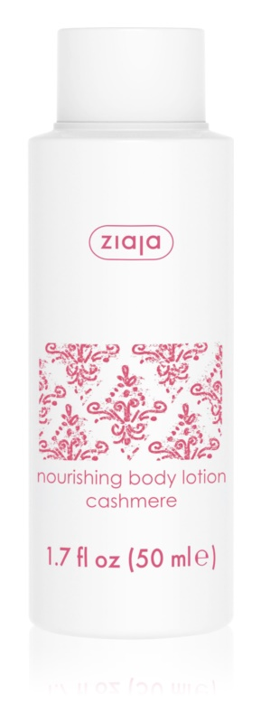 Ziaja Cashmere vyživující tělové mléko pro suchou pokožku