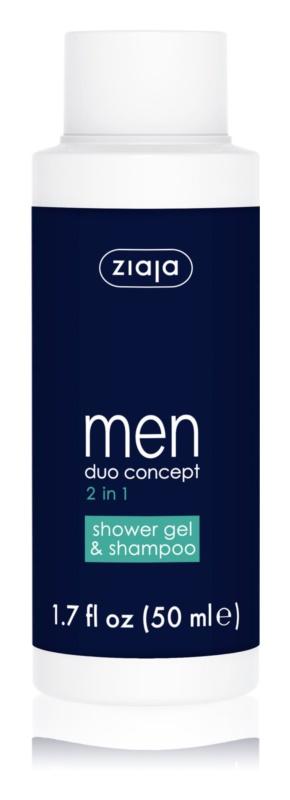 Ziaja Men šampon in gel za prhanje 2v1