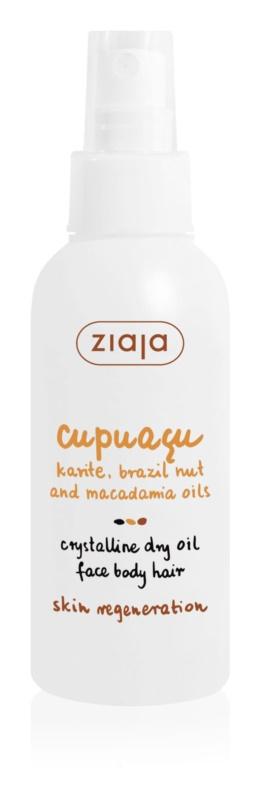 Ziaja Cupuacu suchý kryštalický olej na tvár, telo a vlasy