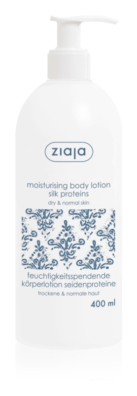 Ziaja Silk Hydrating Body Lotion With Shea Butter