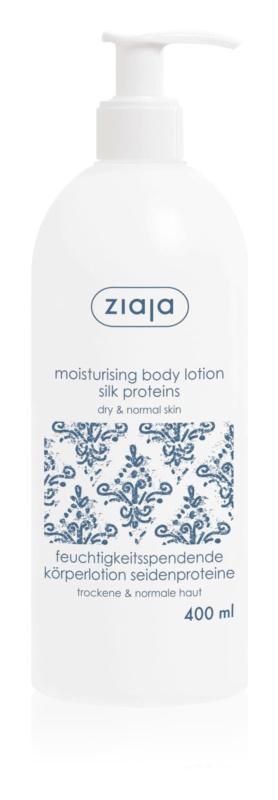 Ziaja Silk lotiune de corp hidratanta unt de shea