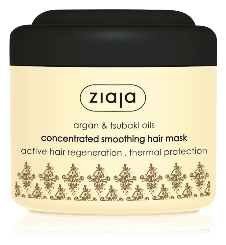 Ziaja Argan Oil vyhladzujúca maska pre suché a poškodené vlasy