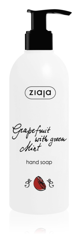 Ziaja Grapefruit with Green Mint sapun lichid de maini