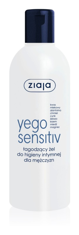 Ziaja Yego Sensitiv Intimate hygiene gel For Men