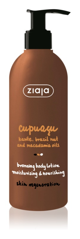 Ziaja Cupuacu önbarnító testápoló tej