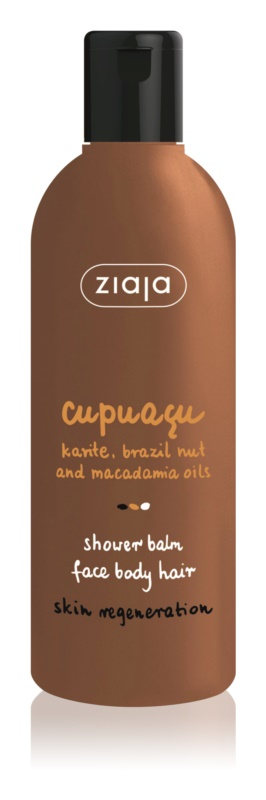 Ziaja Cupuacu Shower Balm for Face, Body and Hair