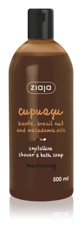 Ziaja Cupuacu kristalni gel za prhanje in milo za kopanje