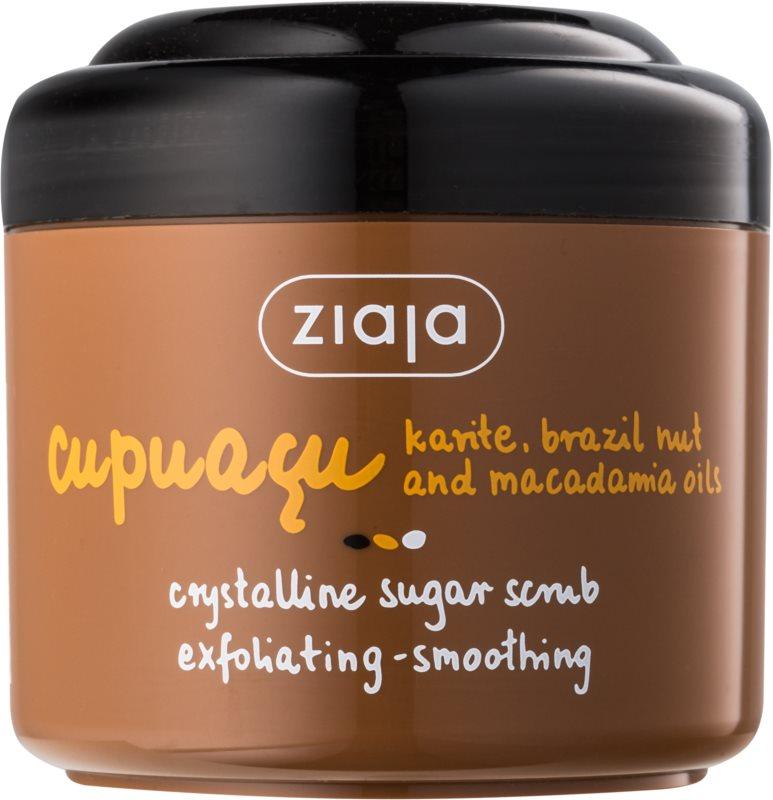 Ziaja Cupuacu кристалічний цукровий пілінг
