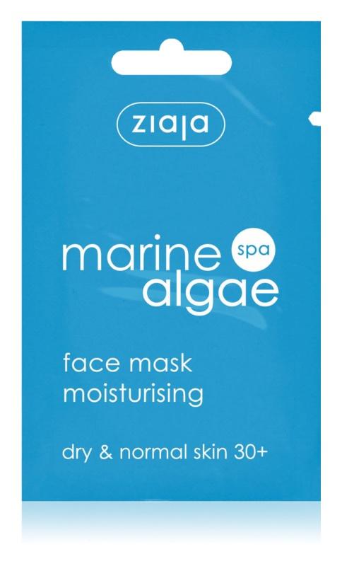 Ziaja Marine Algae maseczka nawilżająca do cery normalnej i suchej