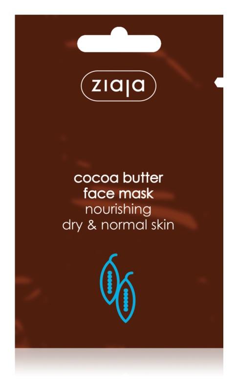 Ziaja Cocoa Butter Feuchtigkeitsspendende Maske mit ernährender Wirkung
