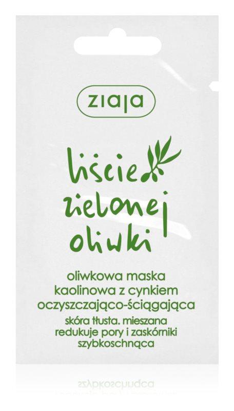 Ziaja Natural Olive máscara facial de caulim