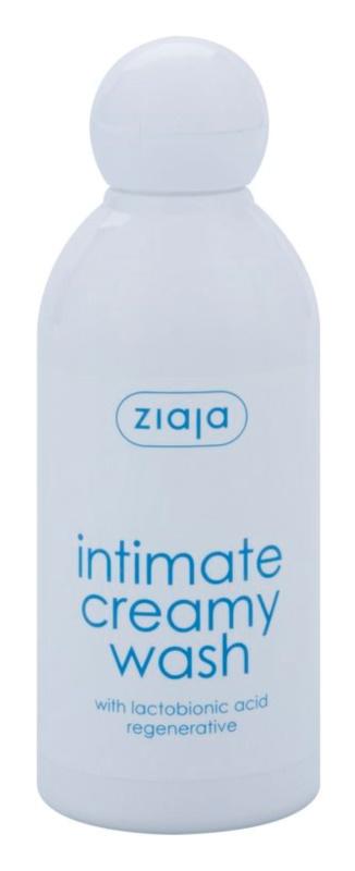 Ziaja Intimate Creamy Wash gél az intim higiéniára az érzékeny bőrre