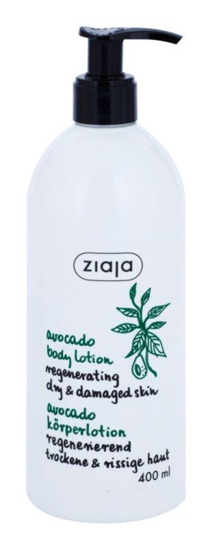 Ziaja Natural Avocado Oil regenerierende Körpermilch