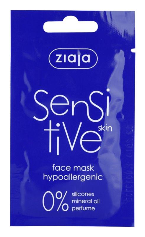 Ziaja Sensitive hypoalergenní maska