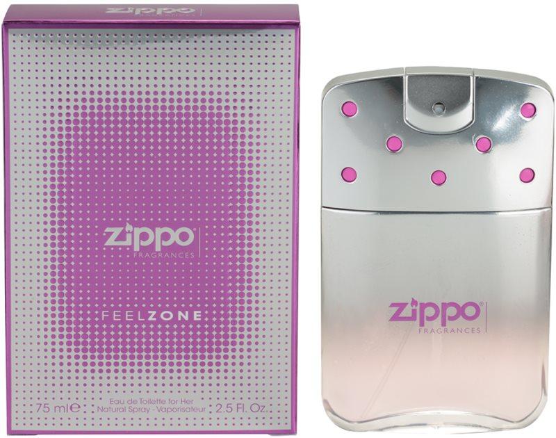 Zippo Fragrances Feelzone for Her Eau de Toilette für Damen 75 ml