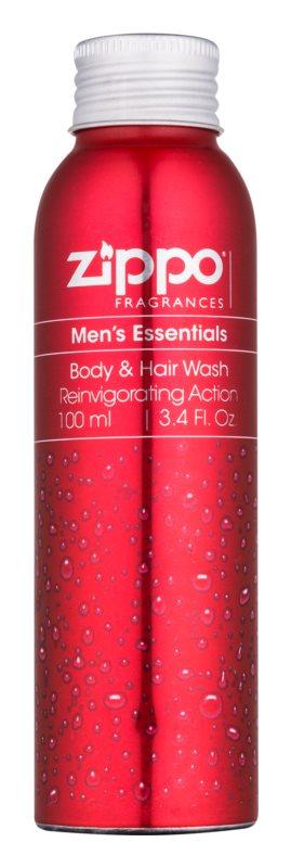 Zippo Fragrances Men´s Essentials Shower Gel for Men 100 ml