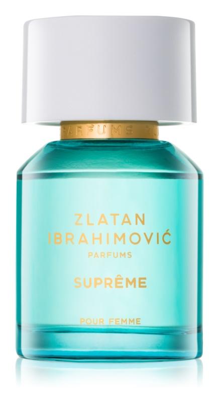 Zlatan Ibrahimovic Supreme eau de toilette pour femme 50 ml