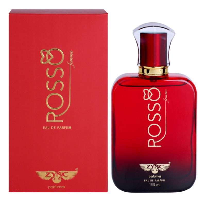 Zync Rosso Eau de Parfum para mulheres 100 ml