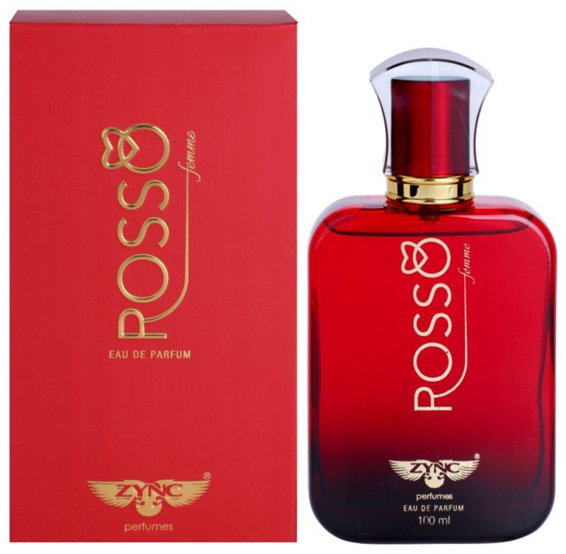 Zync Rosso Parfumovaná voda pre ženy 100 ml