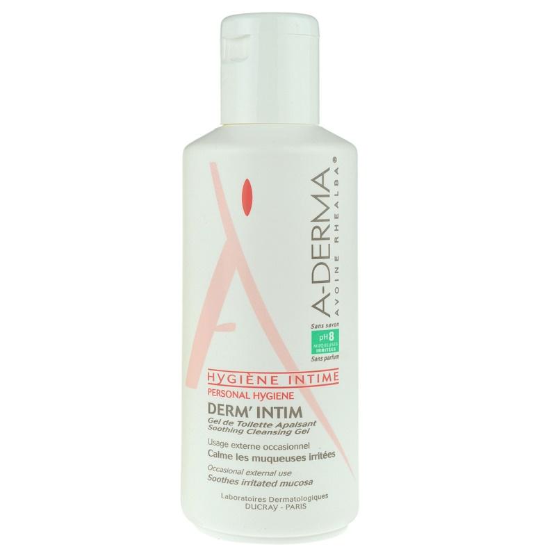 A-Derma Derm´Intim gél intim higiéniára pH 8