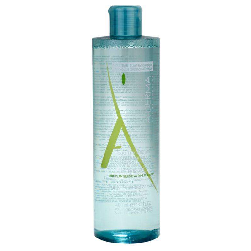 A-Derma Phys-AC água micelar para pele problemática, acne 400 ml