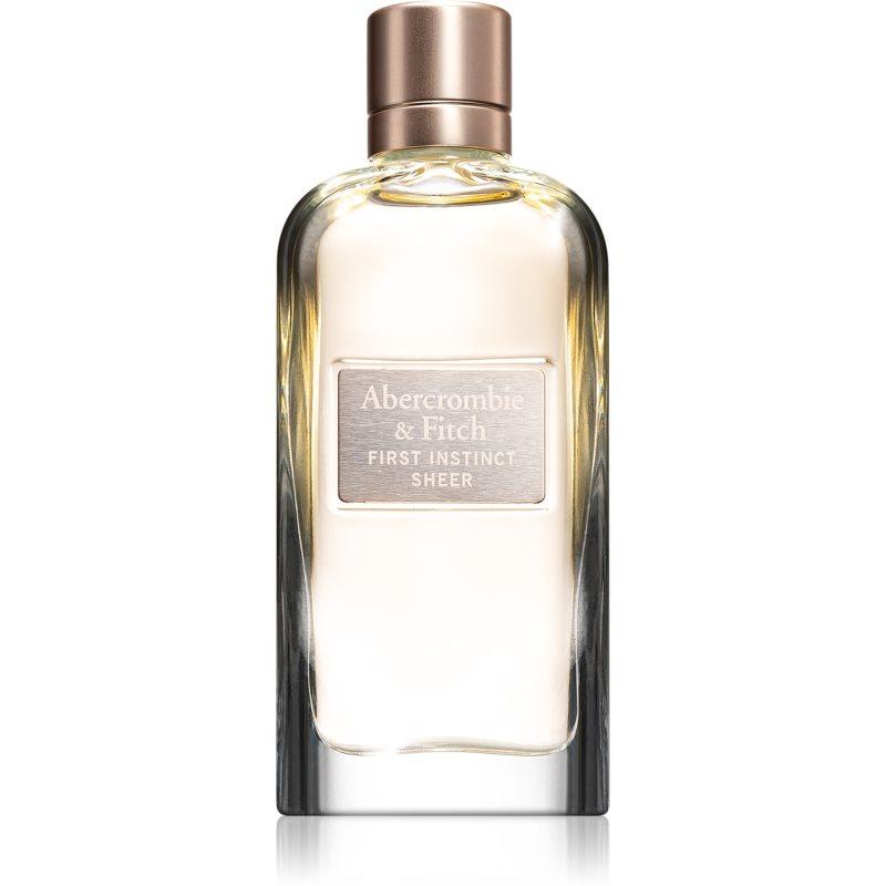 Abercrombie & Fitch First Instinct Sheer eau de parfum pentru femei 100 ml thumbnail