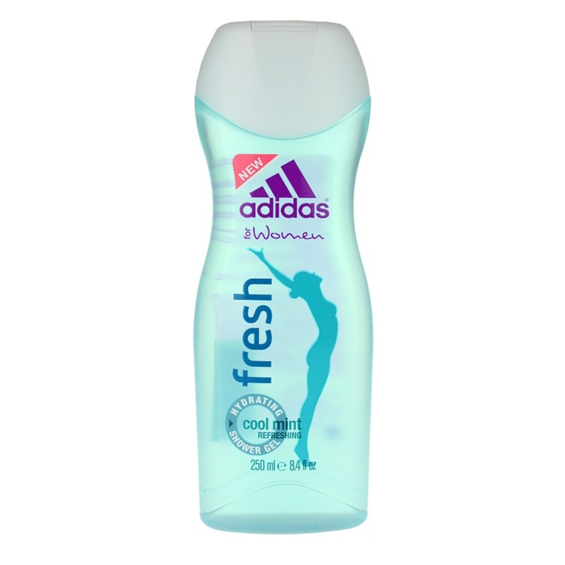 Adidas Fresh tusfürdő gél hölgyeknek 250 ml