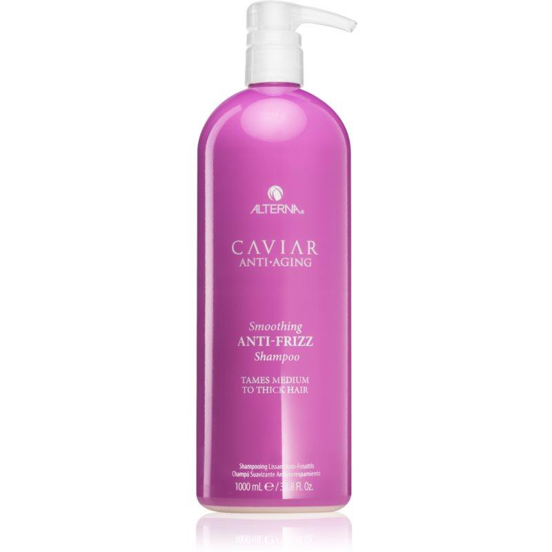 Alterna Caviar Anti-Aging Smoothing Anti-Frizz шампоан за нормална към гъста коса против цъфтене Anti-Frizz Shampoo 1000 мл.