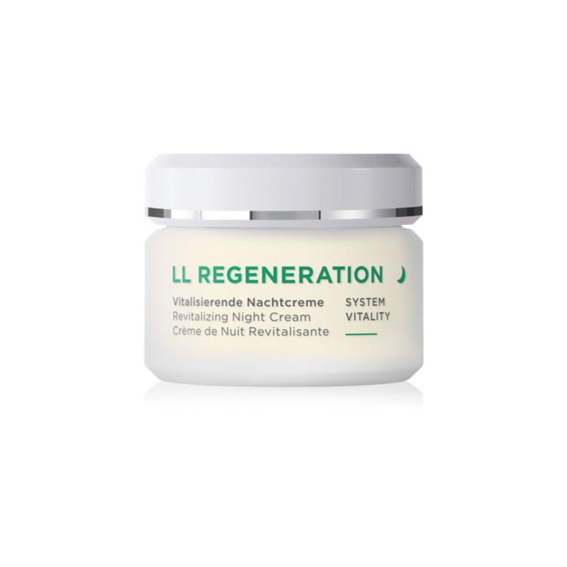 ANNEMARIE BÖRLIND LL Regeneration regenerujący krem na noc do skóry suchej 50 ml