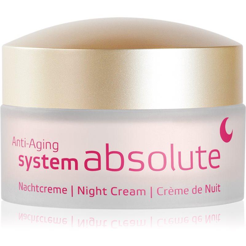 ANNEMARIE BÖRLIND System Absolute - System Anti - Aging regenerujący krem na noc przeciw oznakom starzenia 50 ml