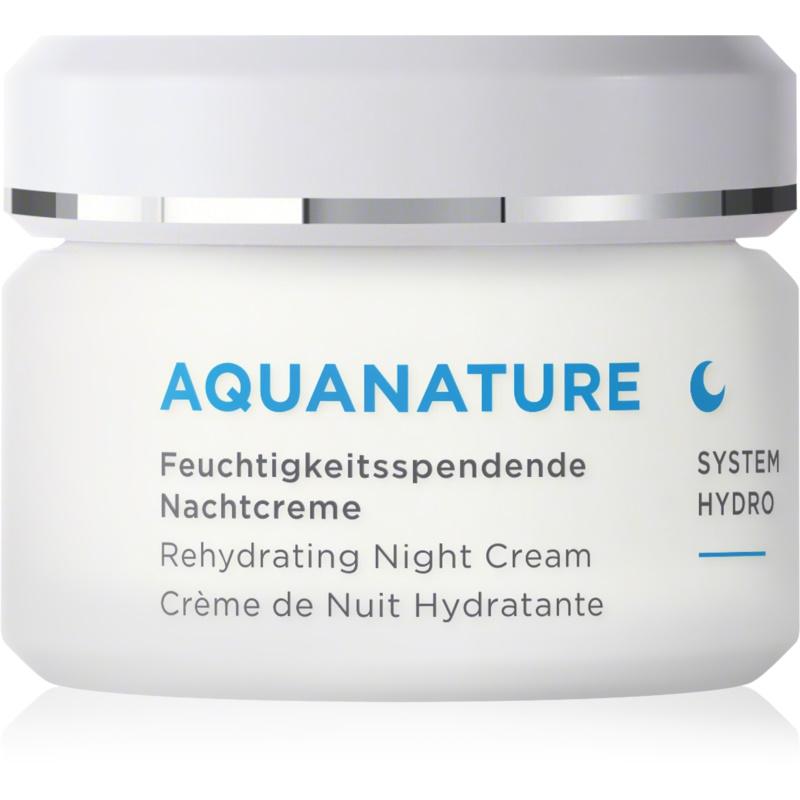 ANNEMARIE BÖRLIND AquaNature - System Hydro nawilżający krem na noc 50 ml