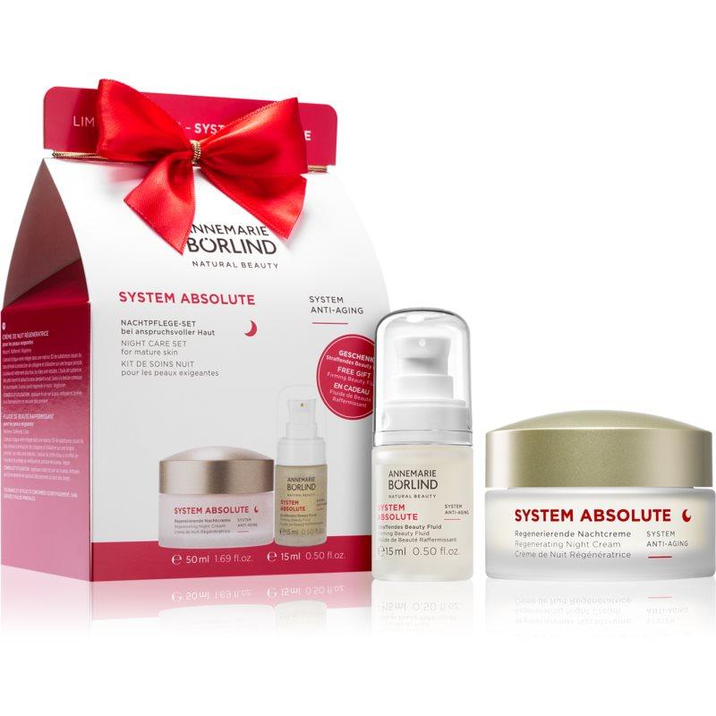 ANNEMARIE BÖRLIND SYSTEM ABSOLUTE Kosmetik-Set I. (für die Nacht) für Damen
