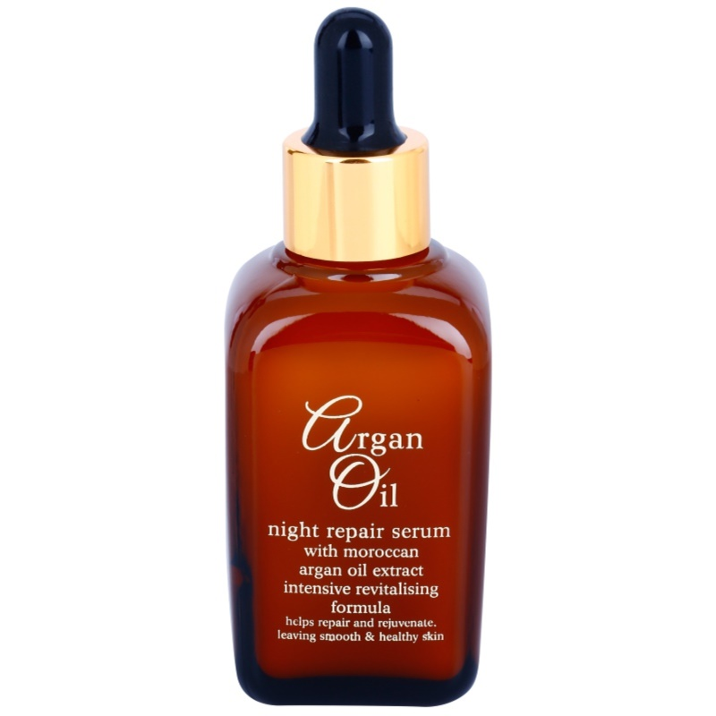 Argan Oil Revitalise Cares Protect soin de nuit r�novateur � l'huile d'argan 50 ml