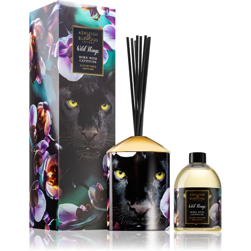Ashleigh & Burwood London Wild Things Born With Cattitude aroma difusor com recarga 480 ml
