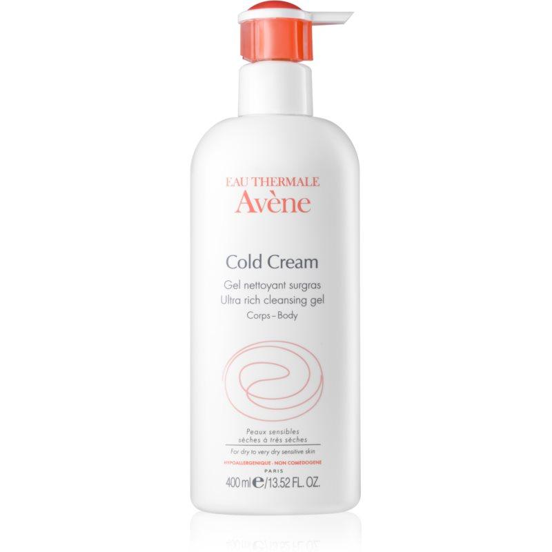 Avène Cold Cream tisztító gél a nagyon száraz bőrre