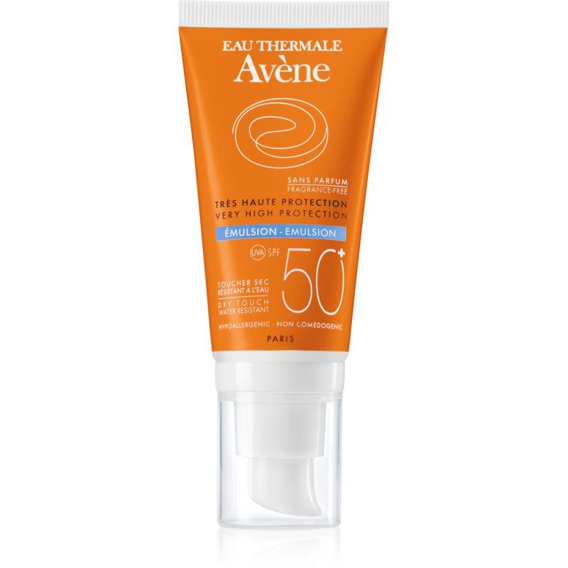 Avène Sun Sensitive émulsion solaire sans parfum SPF 50+,AVENE,