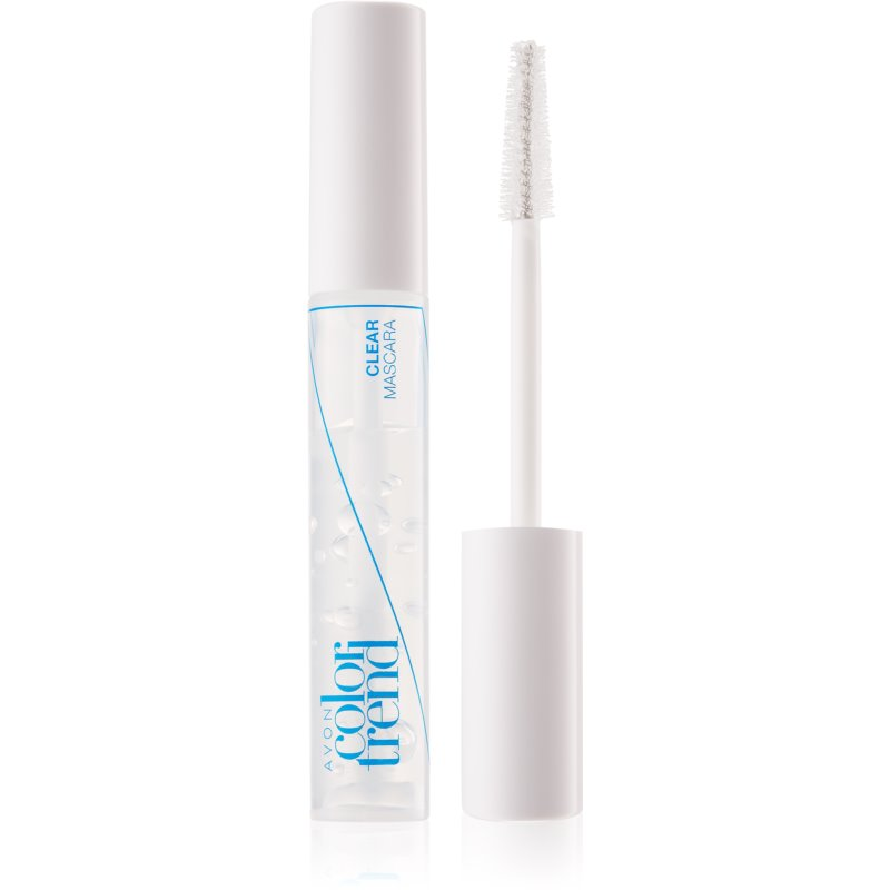avon color trend clear mascara