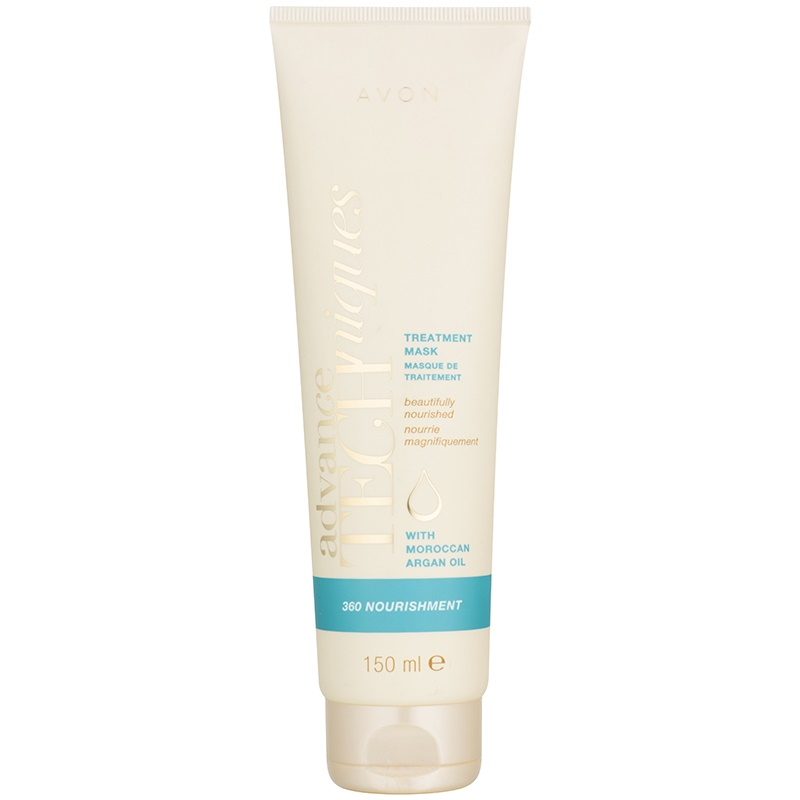 Avon Advance Techniques 360 Nourishment mască de păr cu ulei de argan marocan 150 ml thumbnail