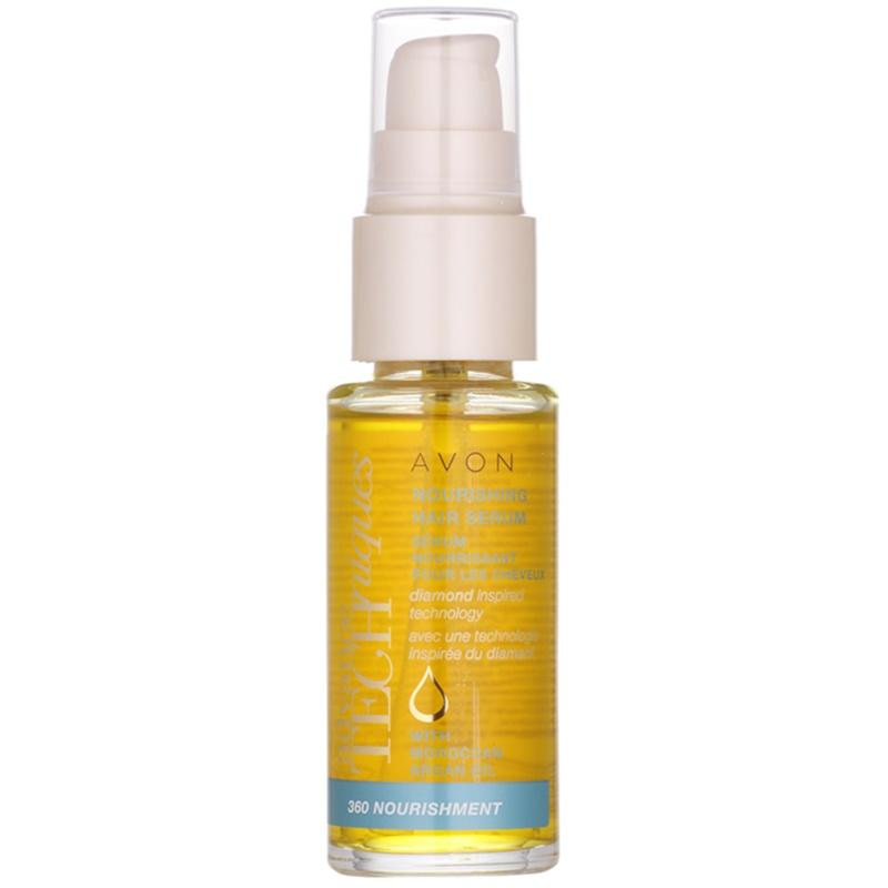 Avon Advance Techniques 360 Nourishment ser nutritiv pentru păr cu ulei de argan marocan 30 ml thumbnail