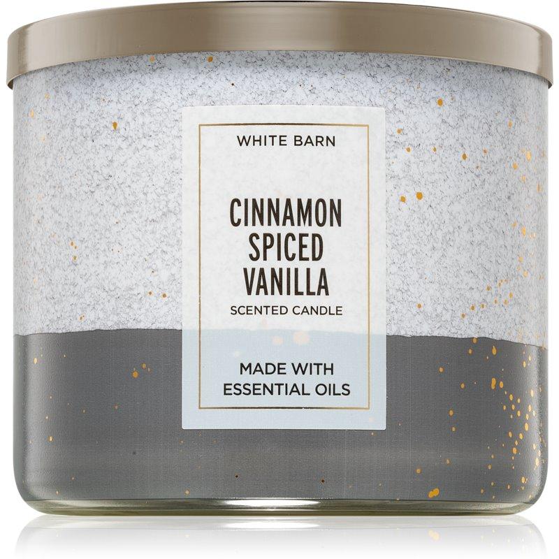 Bath & Body Works Cinnamon Spiced Vanilla aроматична свічка ІІ