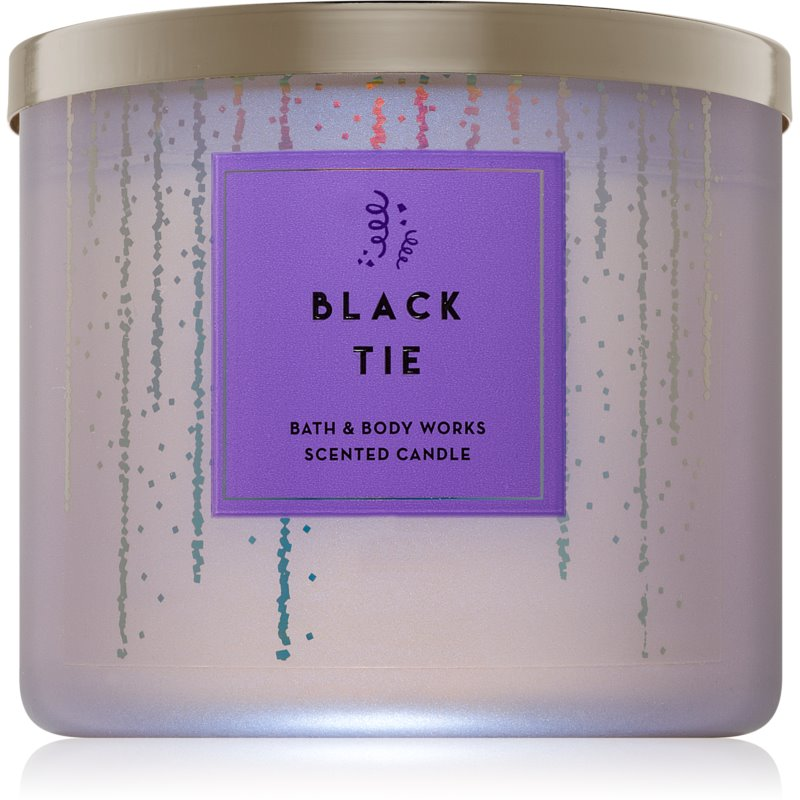 Bath & Body Works Black Tie lumânare parfumată I. 411 g thumbnail
