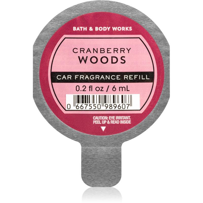 Bath & Body Works Cranberry Woods vůně do auta náhradní náplň 6 ml