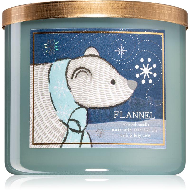 Bath & Body Works Flannel vonná svíčka V. 411 g