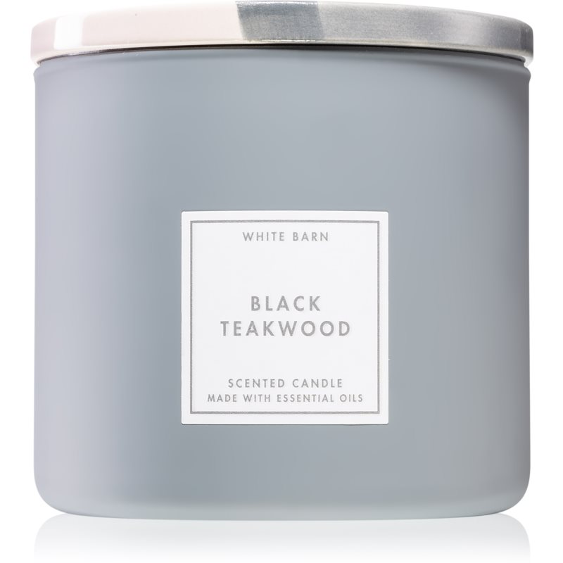 Bath & Body Works Black Teakwood lumânare parfumată 411 g thumbnail